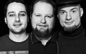 Wunderdata cofounders Richard Neb, Mike Rötgers and Stefan Ladenthin.