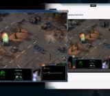 XSplit Gamecaster streaming StarCraft II to Twitch.