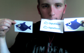 DigitalOcean stickers