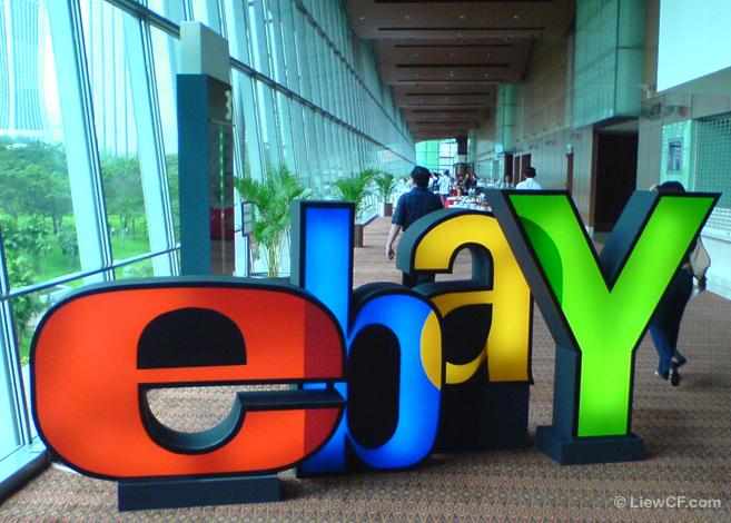 eBay logo.
