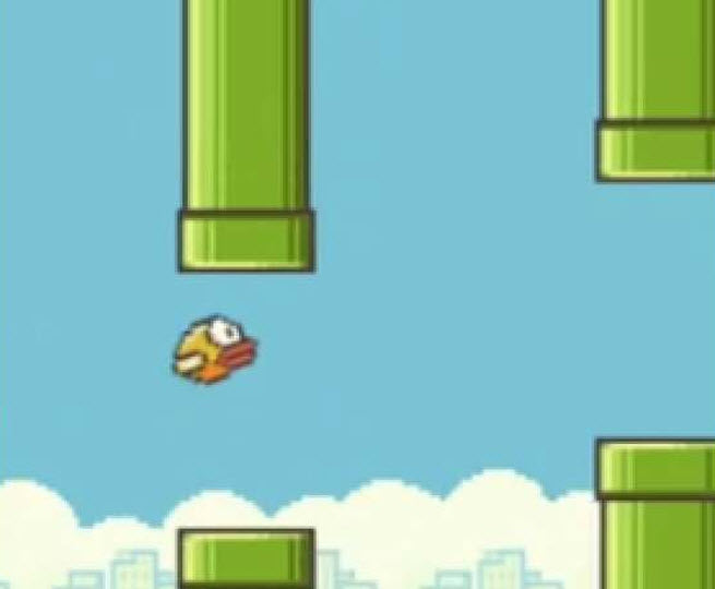 The original Flappy Bird.