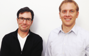 Entelo's founders Jon Bischke and John McGrath.