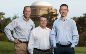 IDG Ventures partners Alexander Rosen, Pat Kenealy, and Phil Sanderson.