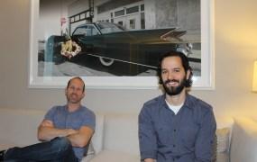 Bruce Straley and Neil Druckmman of Naughty Dog.