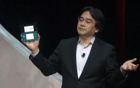 Former Nintendo president Satoru Iwata.