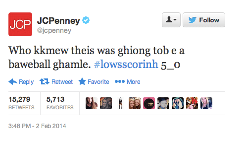 JCPenney tweets