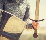knight armor sword Masson shutterstock