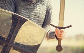 knight armor sword Masson shutterstock