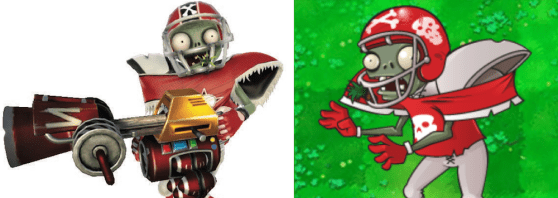 Plants vs. Zombies Garden Warfare Football All-Star