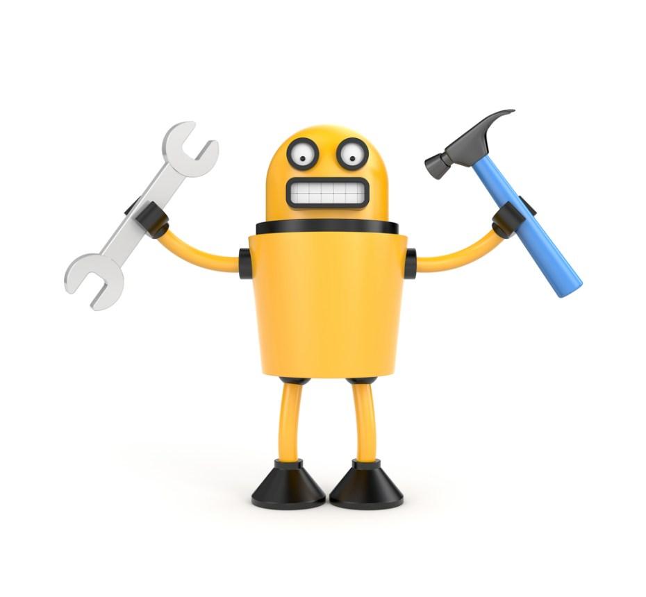 Robot mechanic Palto Shutterstock