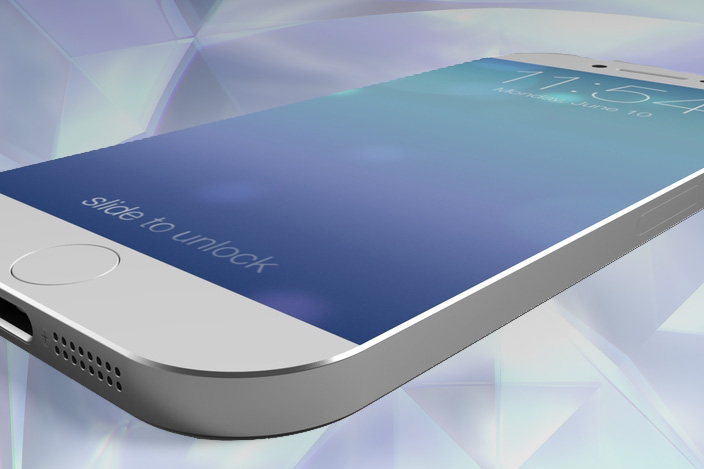 Sapphire crystal iPhone screen