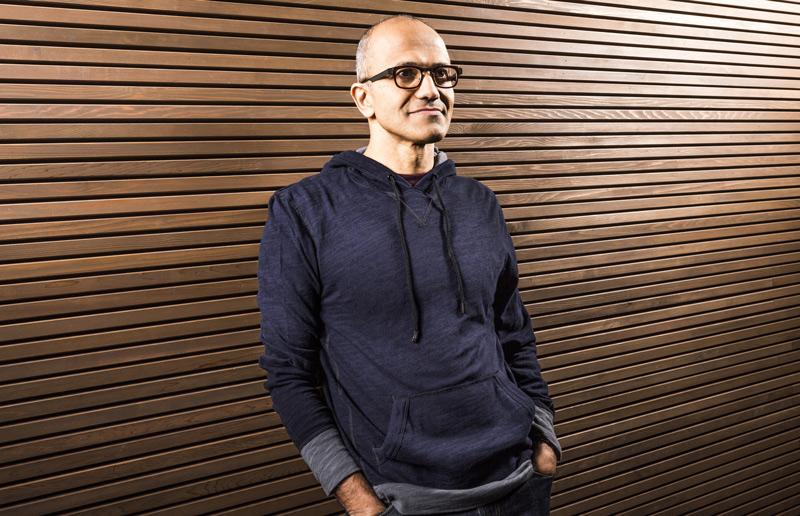 Satya Nadella, Microsoft's new chief executive.