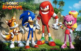 Leaked character art from Sega's Sonic Boom.