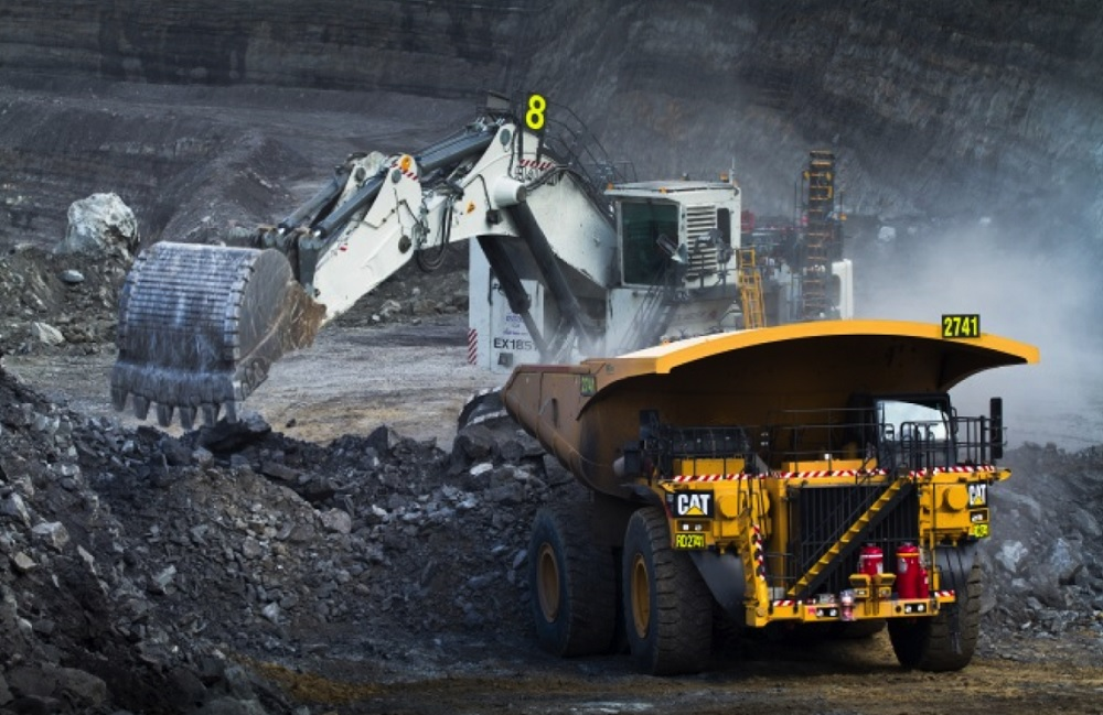 Thiess mining extractor