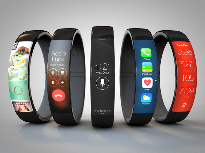 "Apple ""iWatch"" concept by UI designer Todd Hamilton"