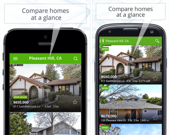 trulia compare homes