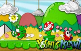 Yoshi's Island artwork.