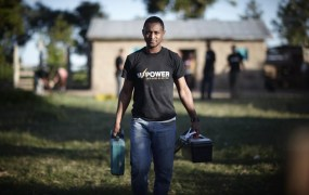 Off Grid Electric delivers solar power to homes in Africa