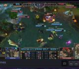 Azubu airing a League of Legends match.