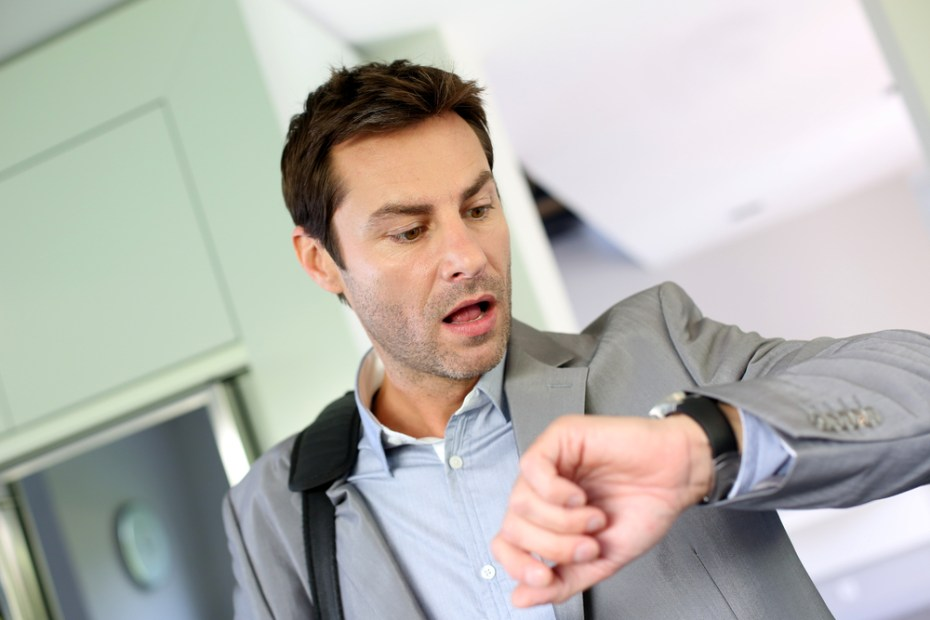 businessman watch Goodluz Shutterstock