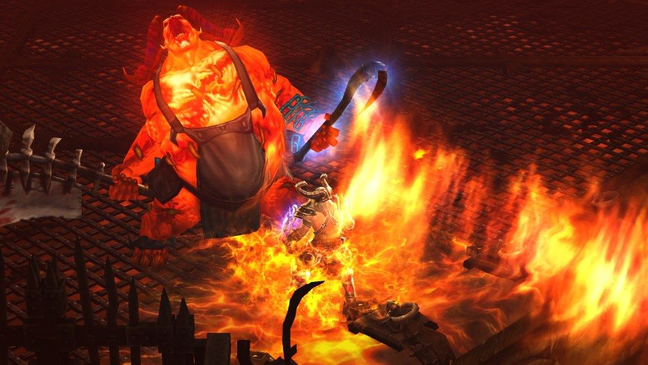The Butcher meets the Barbarian in Diablo III.