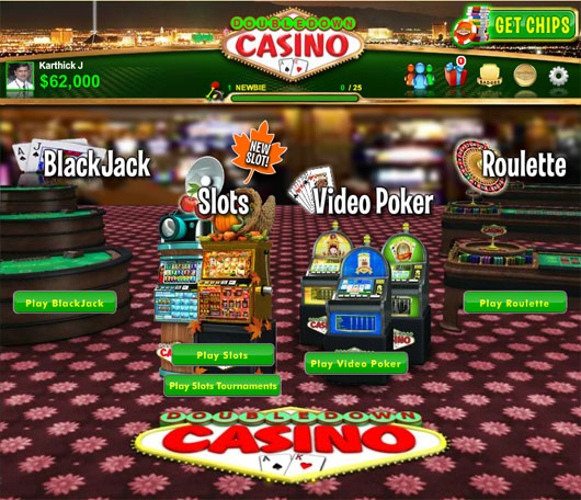 Double Down Casino is a popular social-casino game.
