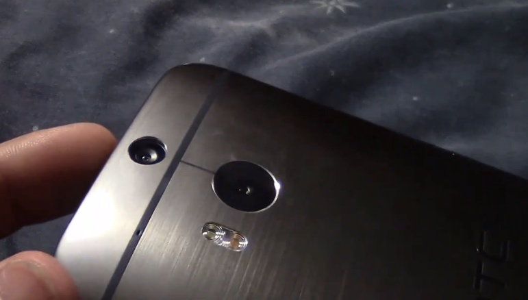 HTC One 2014 leaked video