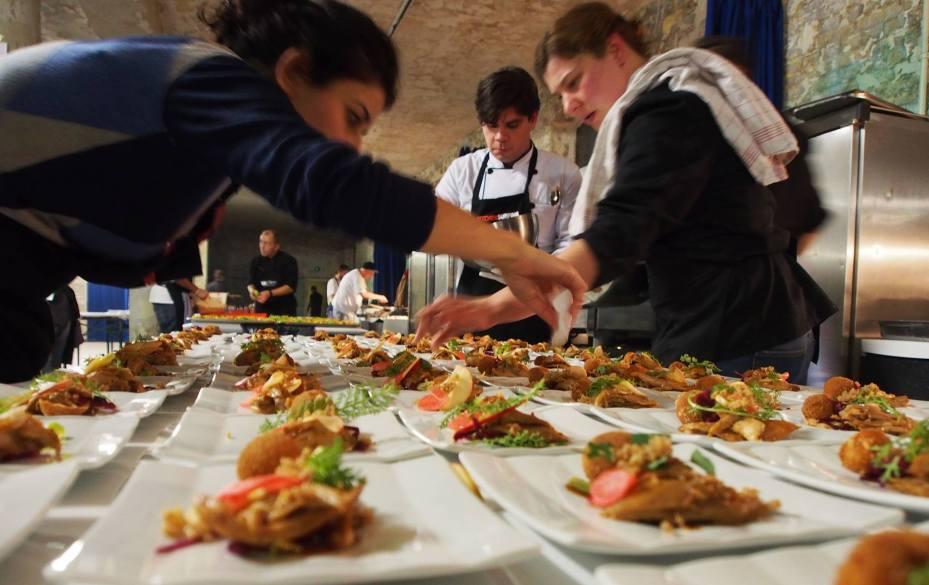 Kitchensurfing chefs at Berlin Food Week 2013.