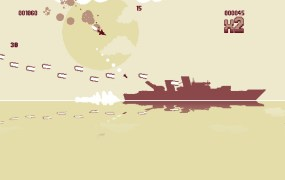 Minimalist visuals and simple mechanics make for intense action in Luftrausers.