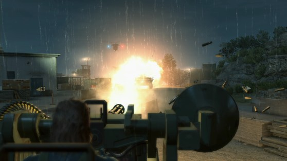 Metal Gear Solid V: Ground Zeroes - Anti-aircraft