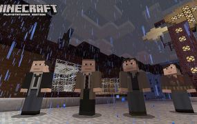 Minecraft for PlayStation 3 gets the cast of Heavy Rain and more in a new skin pack.