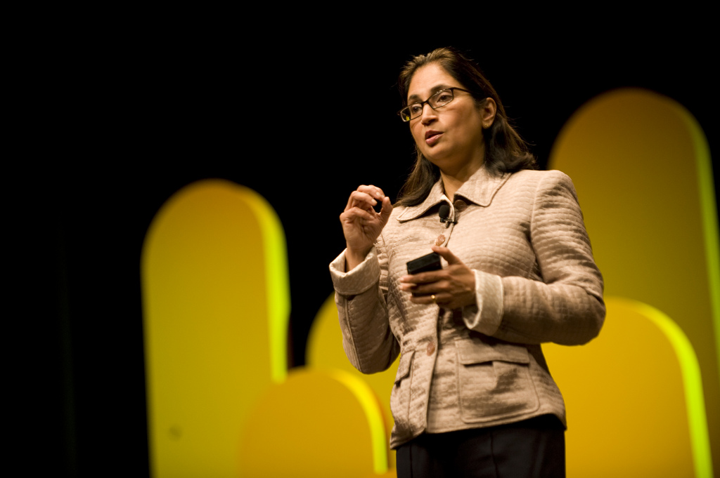Padmasree Warrior, chief technology and strategy officer at Cisco.