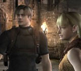Resident Evil 4 characters Leon and Ashley get an HD upgrade.