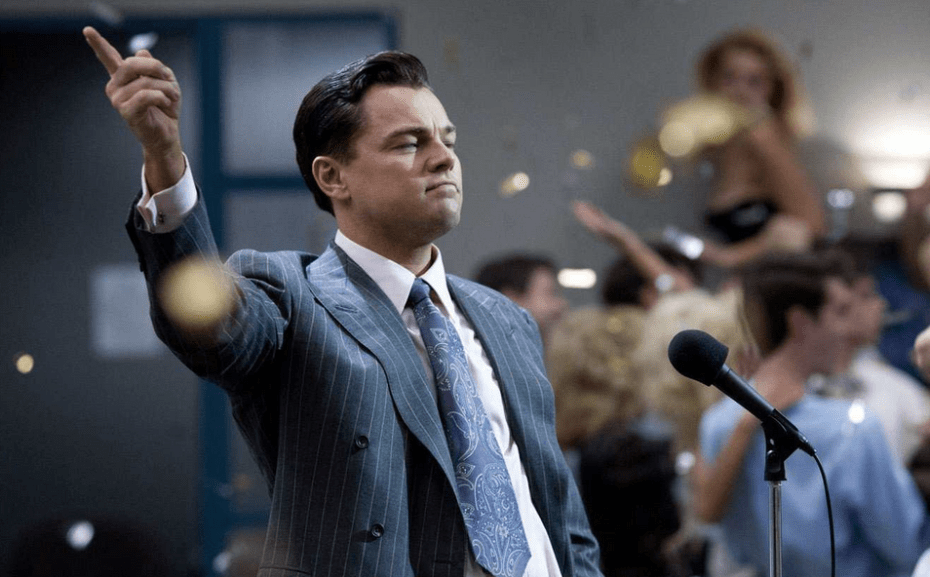 Wolf of Wall Street, a nominee for Viacom's 2014 MTV Movie Awards