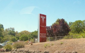 "Tesla Motors: Located in Silicon Valley, and still working on ""hard"" problems."