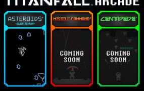 Titanfall Arcade is a new marketing campaign that combines mechs with old games.