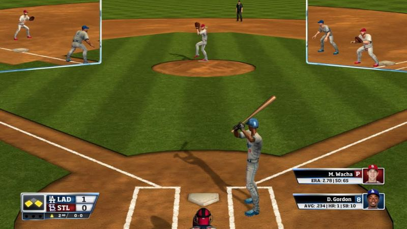 MLBAM is going for a plain look that fits the arcade-style gameplay.