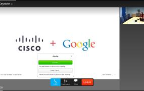 WebEx Chromebook