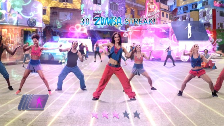 Zumba Fitness: World Party in action for Xbox One.