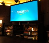 The stage at Amazon's Fire TV media event