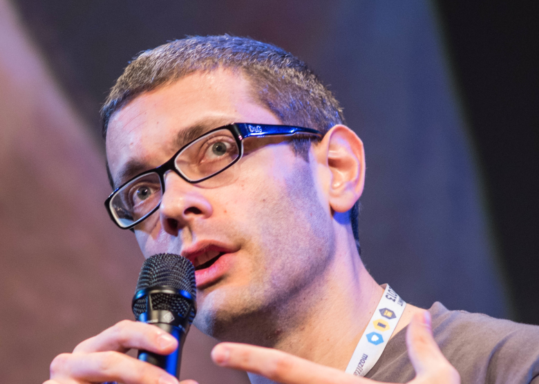Andreas Gal, Mozilla's new chief technology officer.