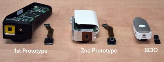 Consumer Physics prototypes