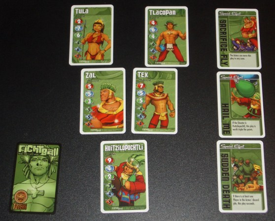 Fightball - Aztecs cards