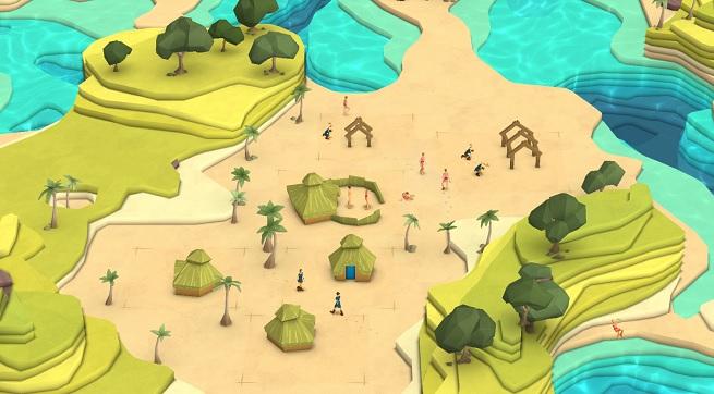 Godus village