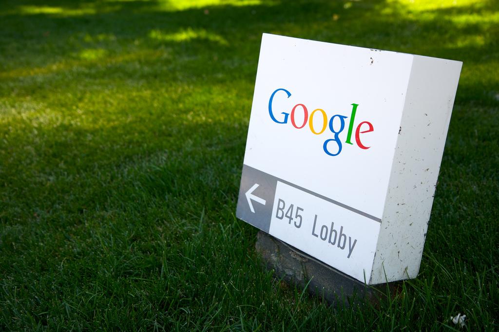 Google sign Marcin Wichary Flickr
