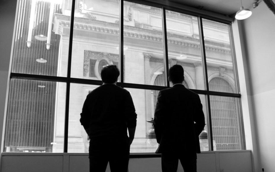 Grand Central Tech managing directors Charlie Bonello (left) and Matt Harrigan (right).