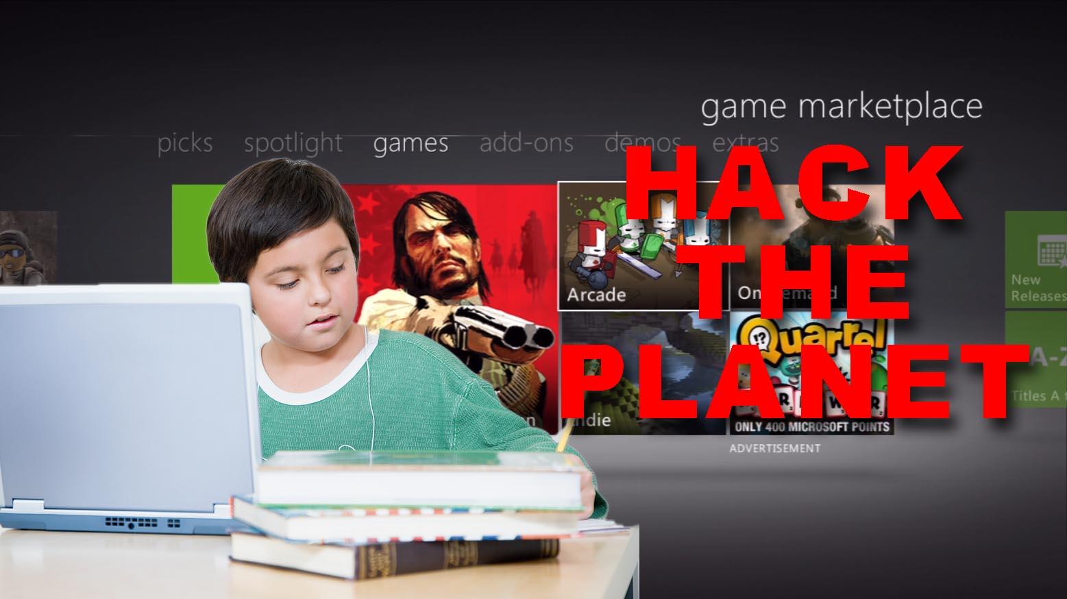 5 year old Xbox hacker