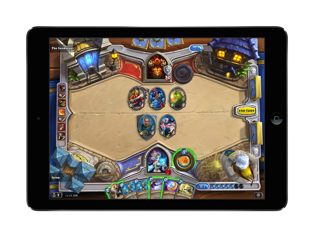 One of the most difficult parts of bringing Hearthstone to the iPad was figuring out Battlecry.