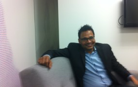 Jyoti Bansal, founder and chief executive of AppDynamics, at company headquarters in San Francisco.