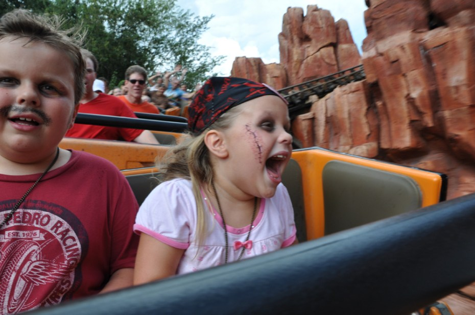 Kids Disney Thunder Mountain Serena Flickr